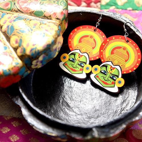 Kathakali earrings