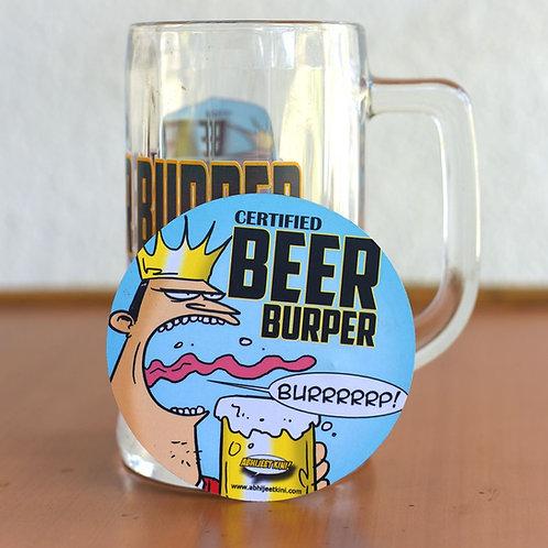 Beer Burper coasters