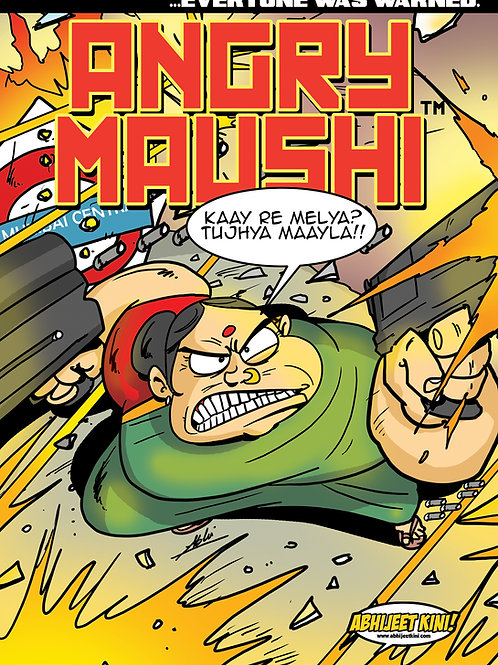 E-COMIC Angry Maushi Issue #1