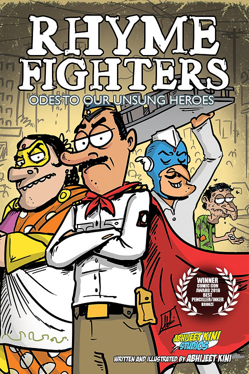 E-COMIC Rhyme Fighters Vol 1