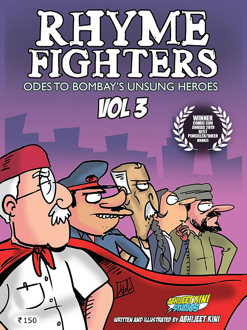 E-COMIC Rhyme Fighters Vol 3