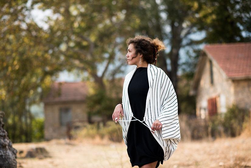 Always With Me | Organic Cotton Fleece Shawl