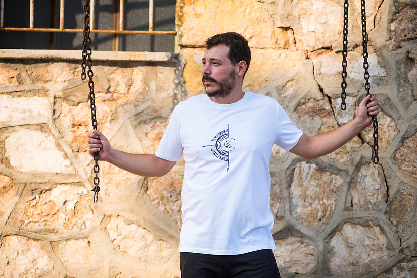 Organic Cotton & Fairtrade Tshirt | Men's Classic Fit | White