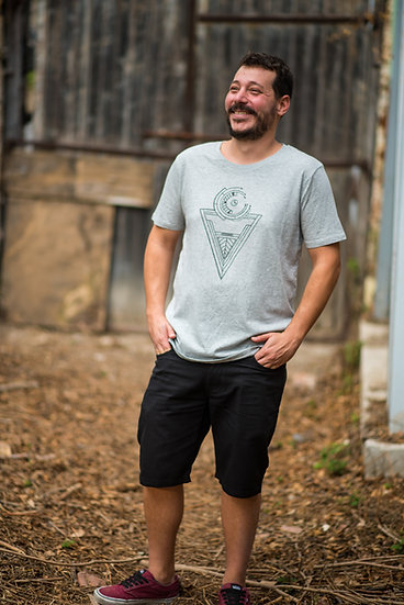 Organic Cotton & Fairtrade Tshirt | Men's Classic Fit | Grey