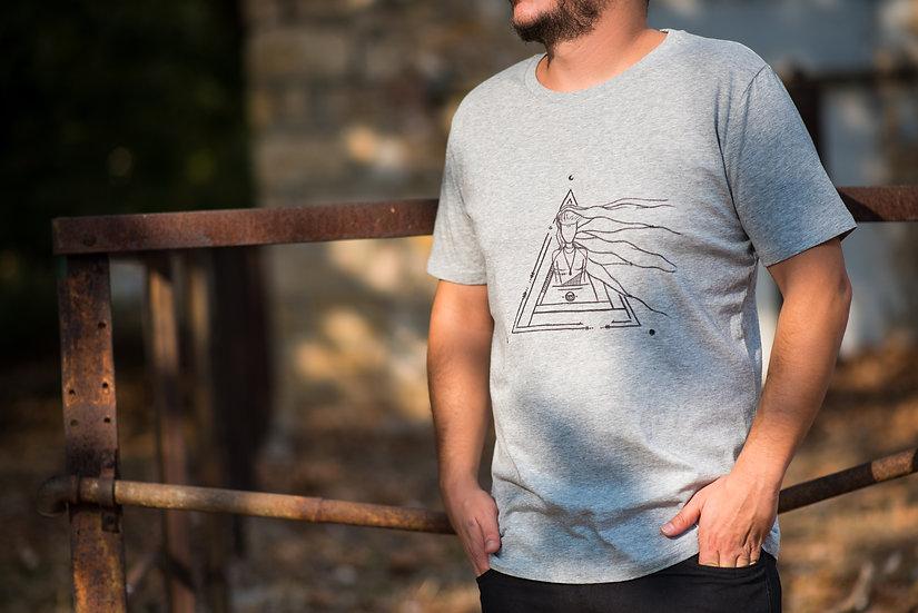 Organic Cotton & Fairtrade Tshirt | Men's Classic Fit | Grey