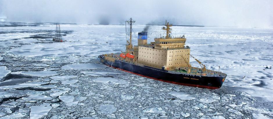 La fonte des glaces en Arctique, au-delà d'un enjeu climatique : un enjeu stratégique sécuritaire.