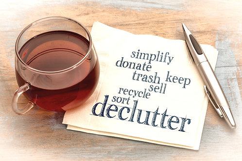 Decluttering/Downsizing