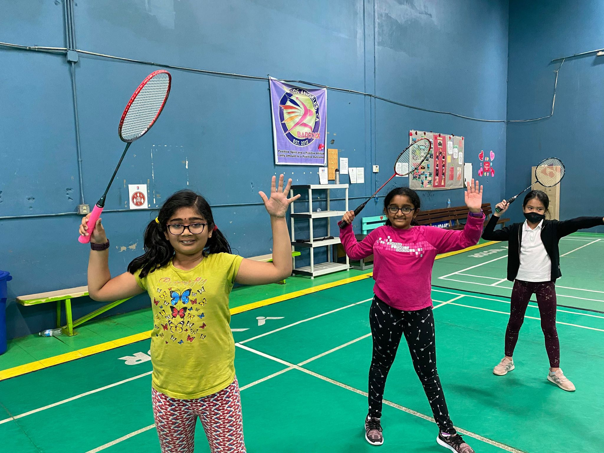 Badminton Class (Kids 9 to 13 years old)
