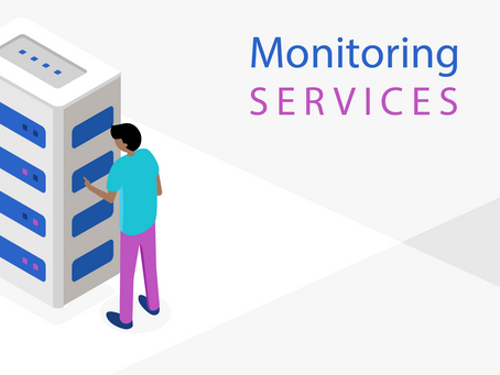 How can monitoring services prevent DDoS?