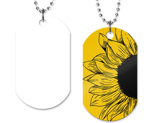 OPB Sunflower Tag