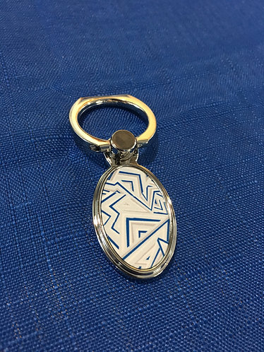 Oval Key Ring Holder
