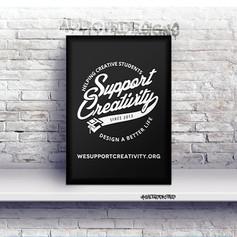 Support Creativity Merch