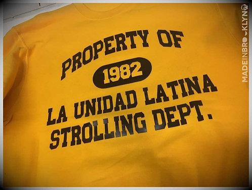 Property of Strolling Dept.