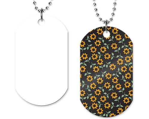 OPB Sunflower Dog Tag