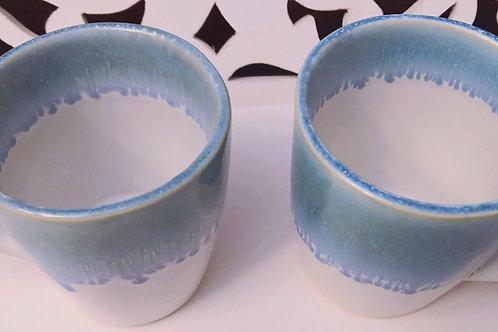 Caneca cerâmica portuguesa