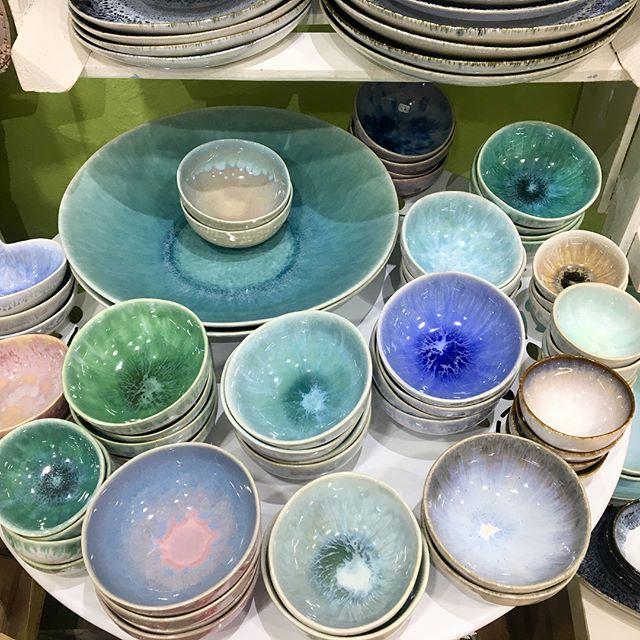 Taças em cerâmica portuguesa