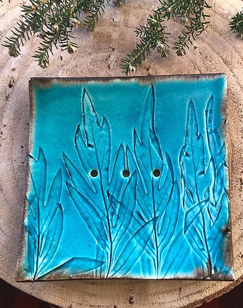 Saboneteira cerâmica feita à mão