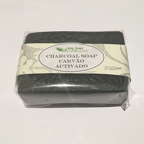 CARVÃO ACTIVADO / CHARCOAL SOAP