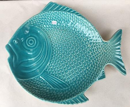 Prato principal  forma peixe