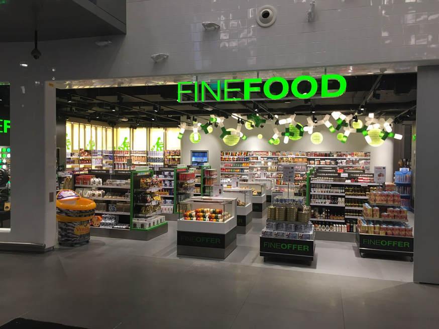 Verlichting FineFood Schiphol