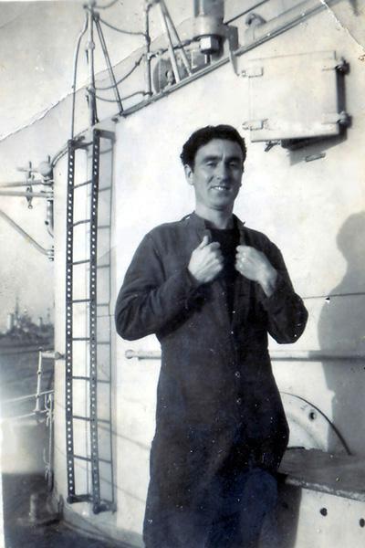 James Thornton  on board