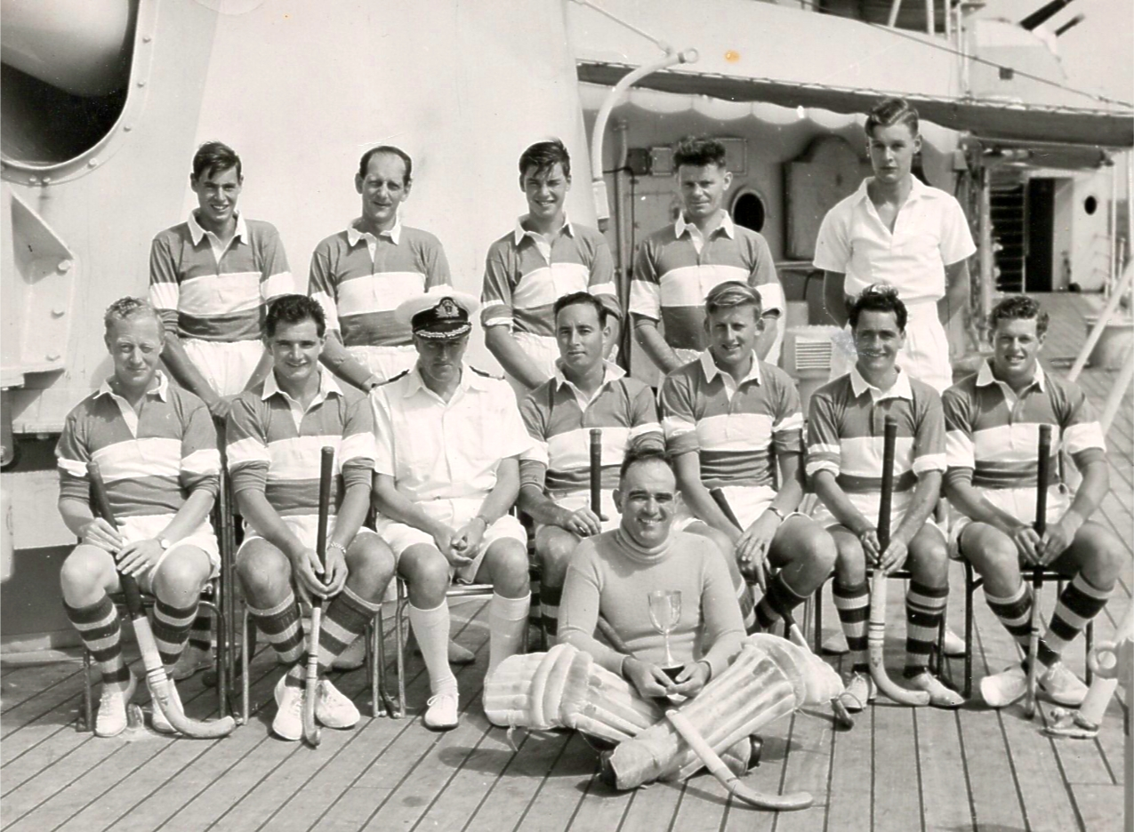 Hockey Team HMS  Superb