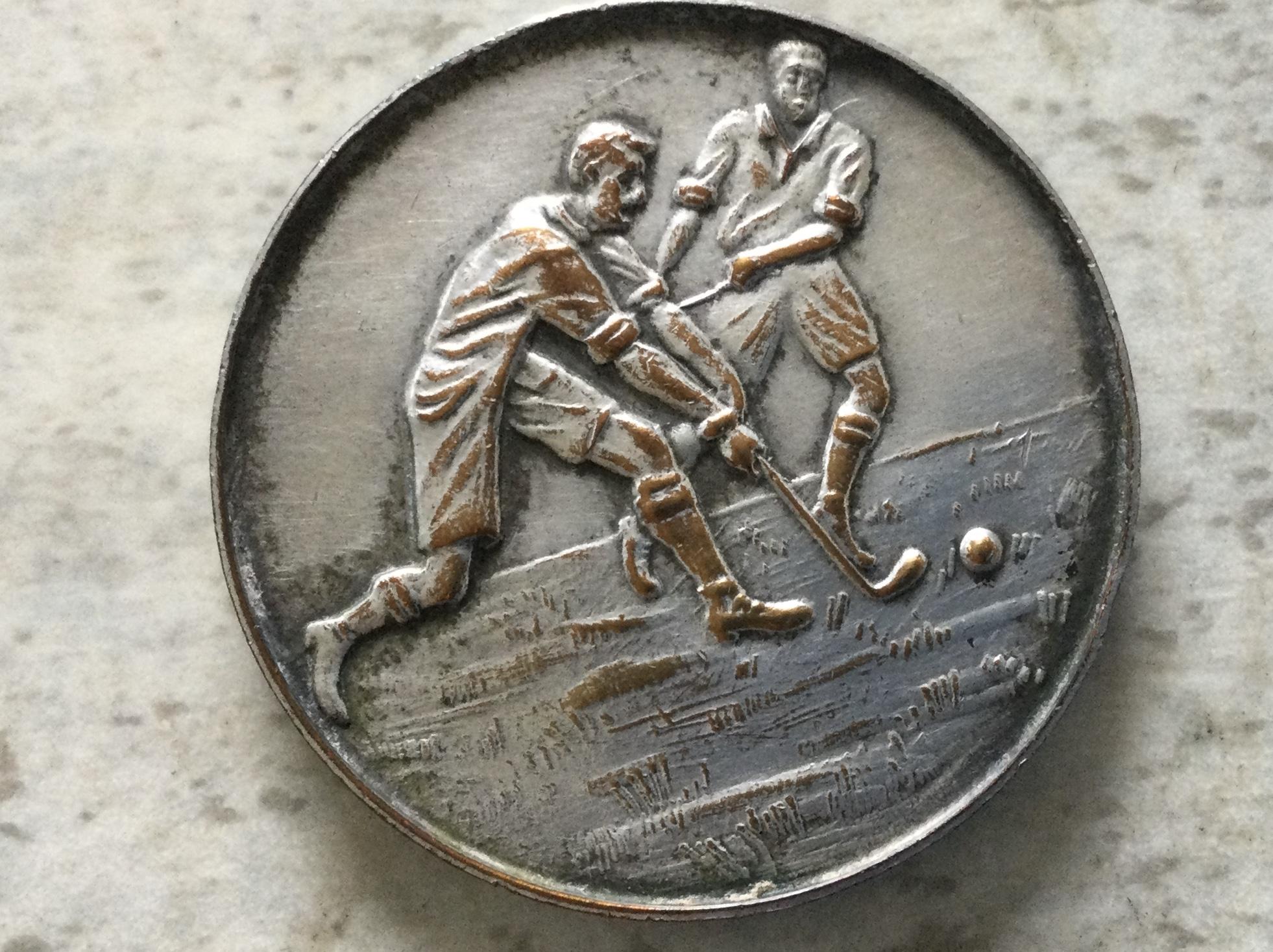 Martin Hyde's Hockey Medal