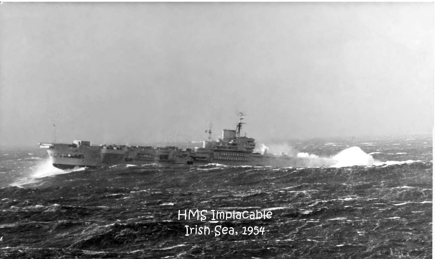 1954 HMS Implacable i