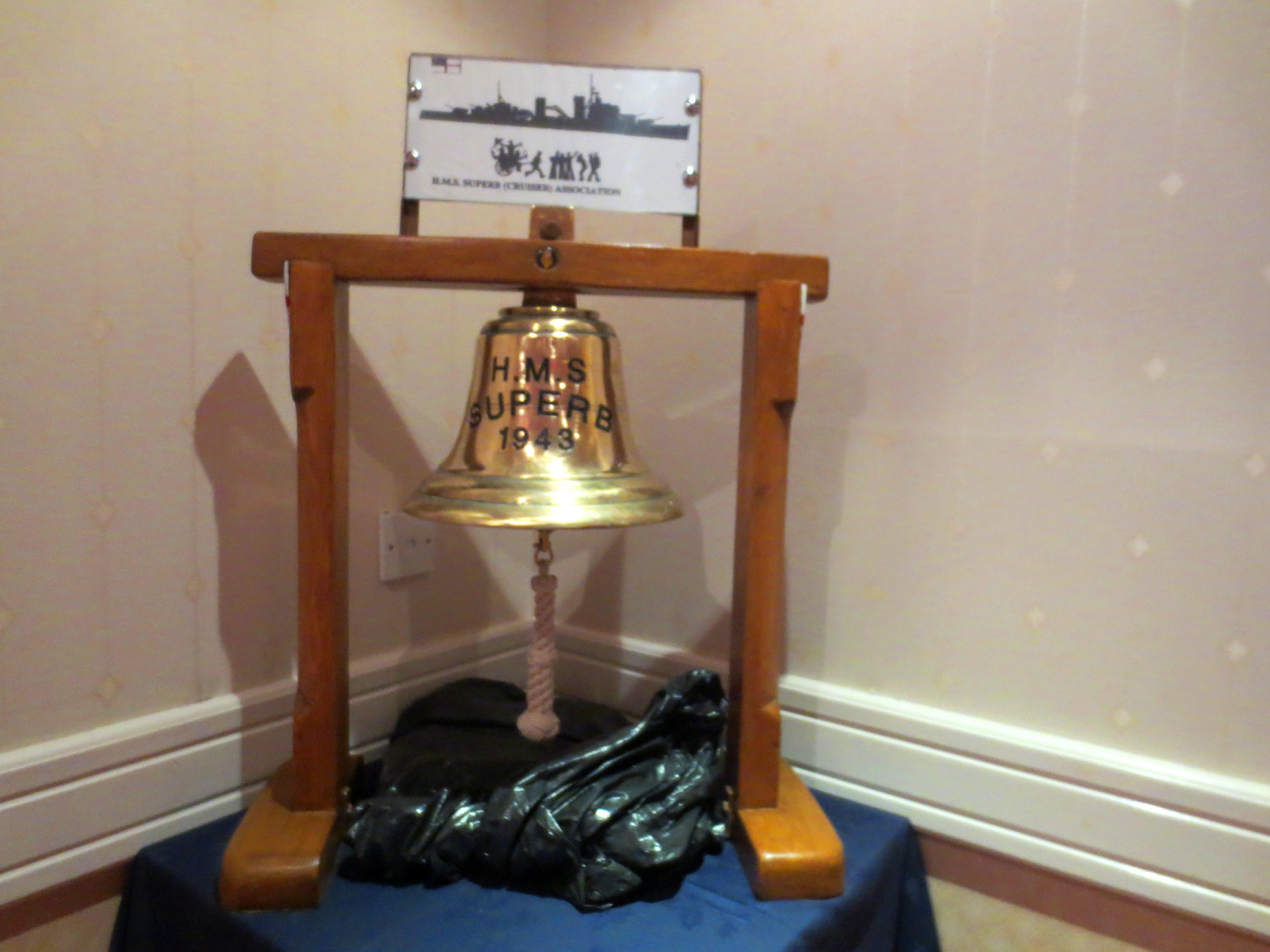 Model of ship's bell