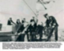 Admiral William Andrewes, John Morris McDonald, Joseph Strutt, John Richmond, John J. Slocum, Thomas Achinclose, HMS Superb