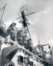 HMS Superb in New York 1953