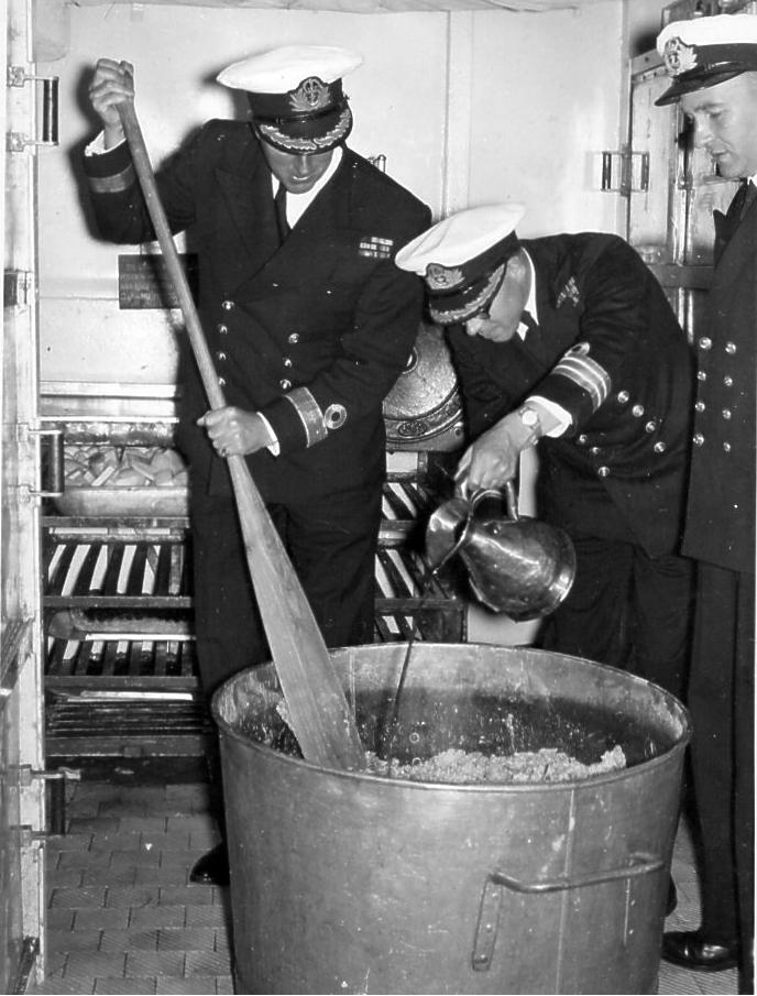 December 1954 The Officer's Mess !