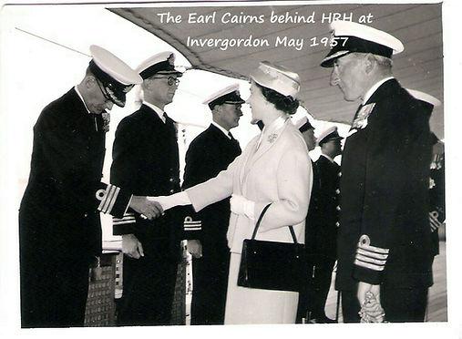 on board HMS Superb