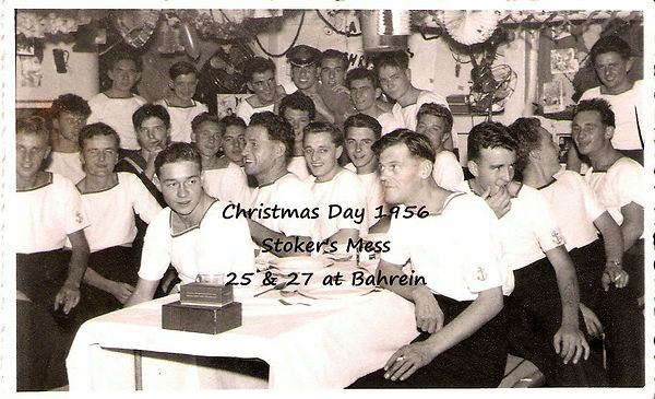Stoker's Mess HMS Superb