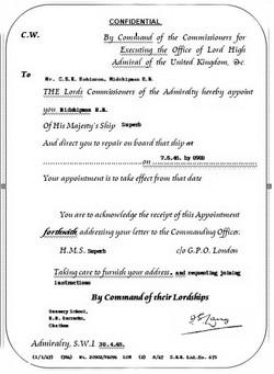 Warrant (Facsimile)