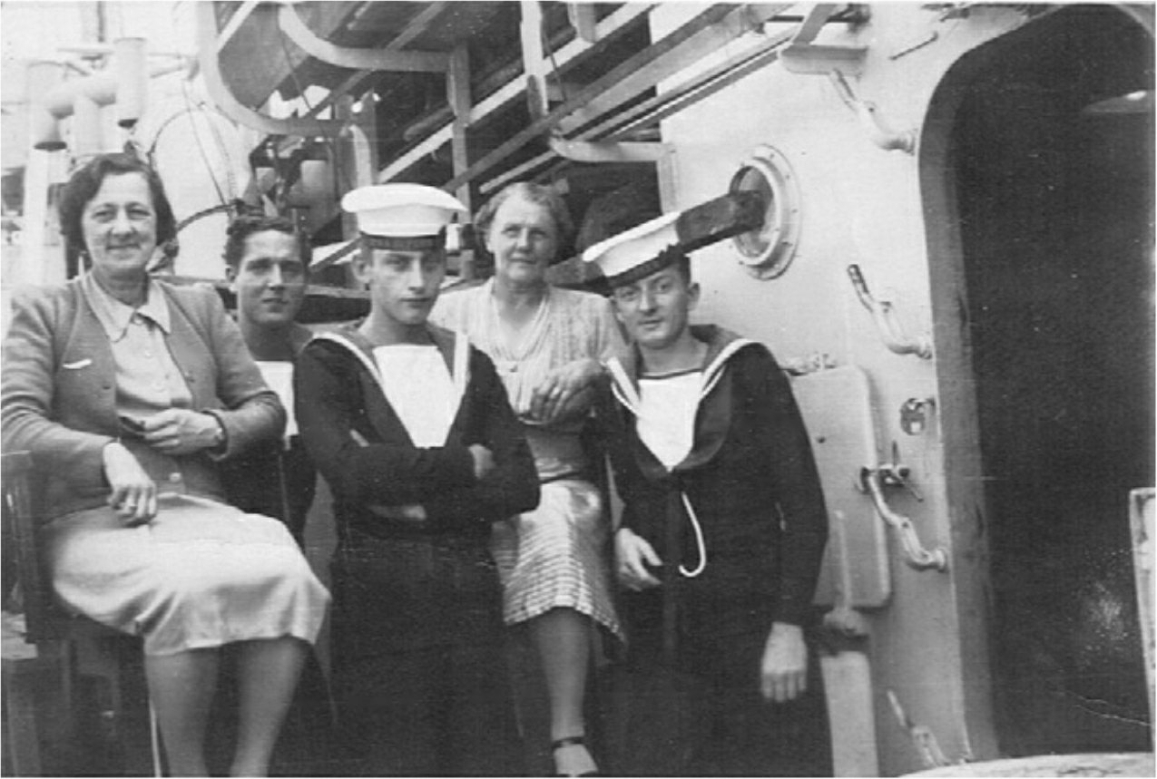 All the Nice Girls love a sailor