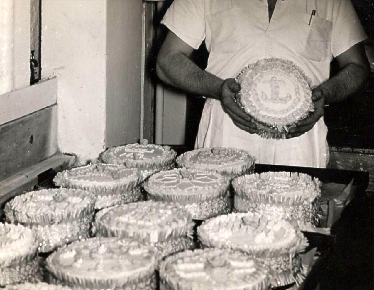 December 1954 The big Bake-Off