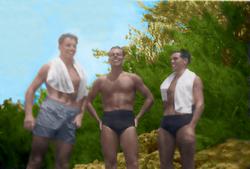 Brian Saunders, Tom & Ken Taylor