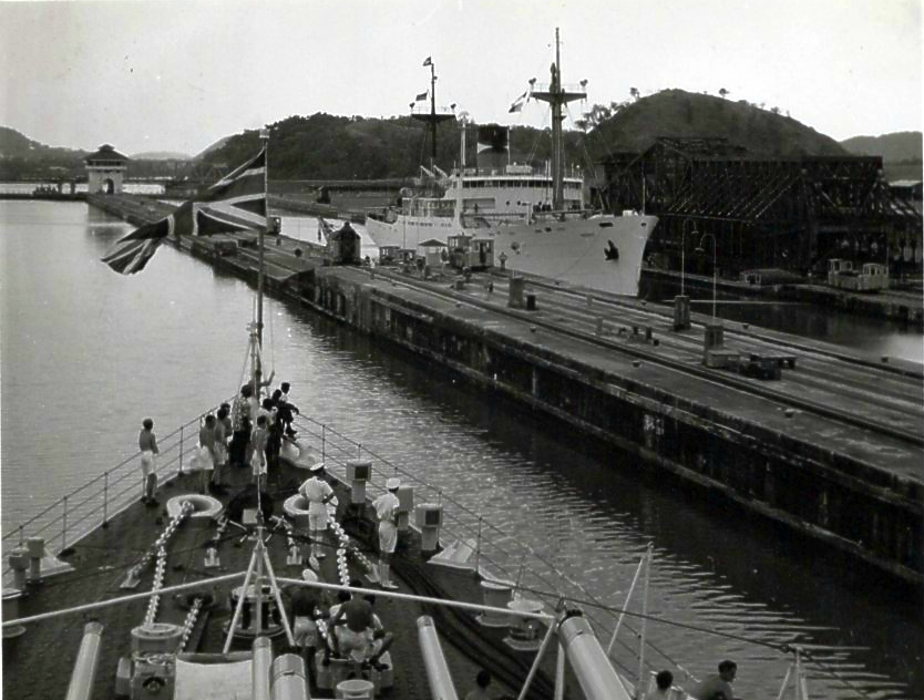 Moving through the Panama Canal 3