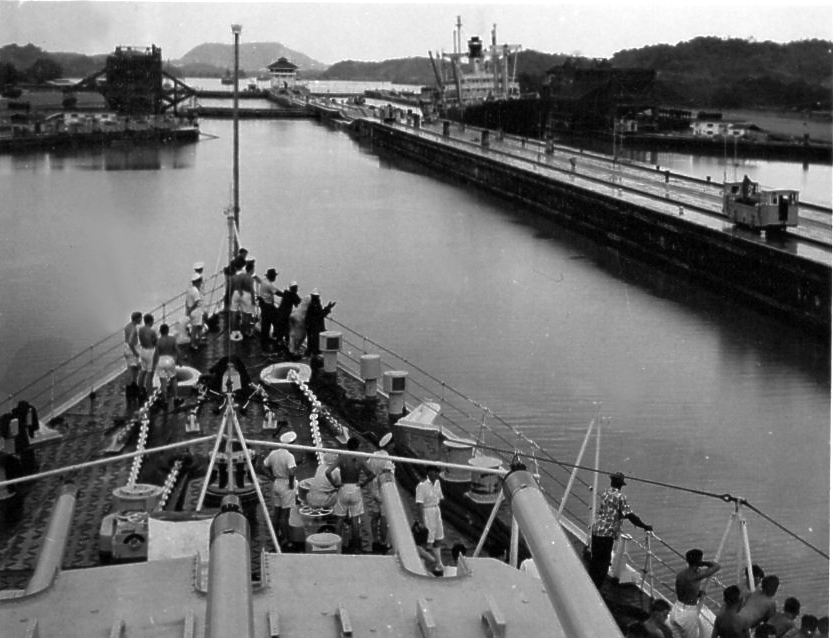 Moving through the Panama Canal 6