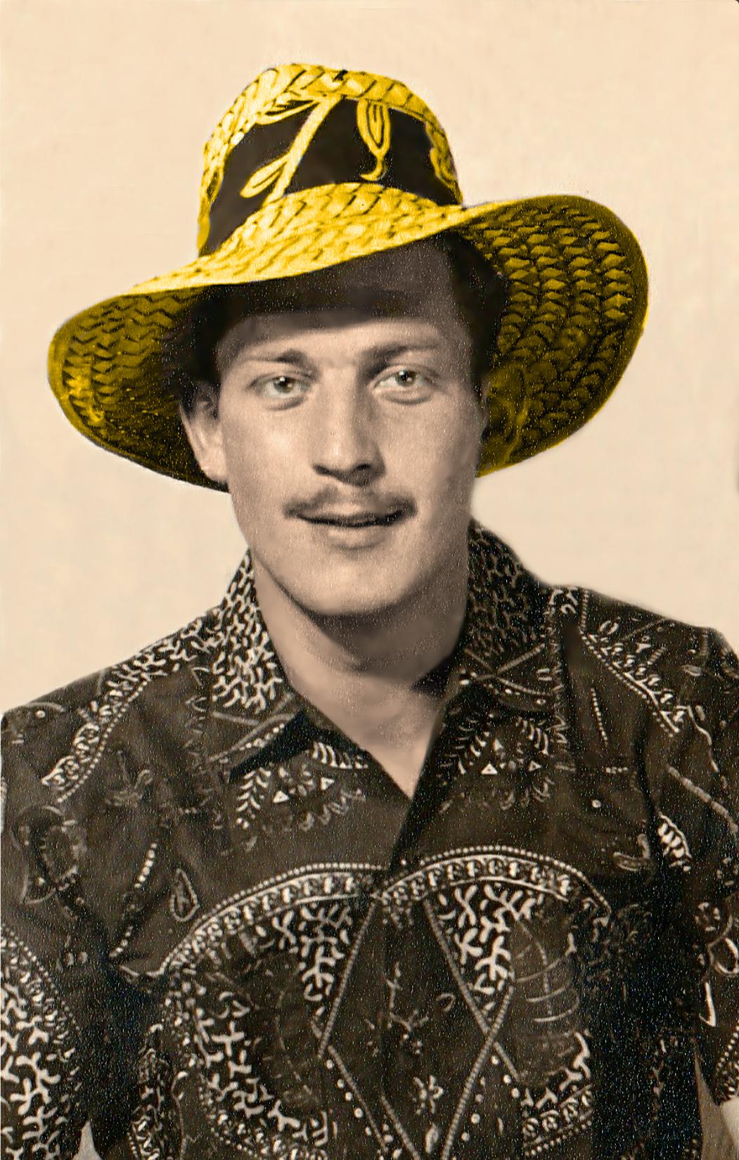 Pete Tasker 1955