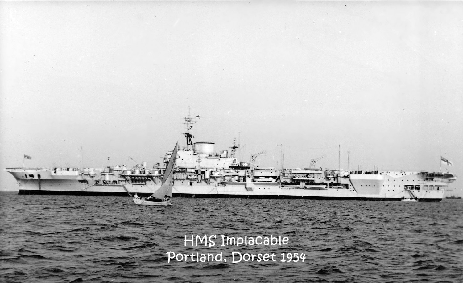 1954 HMS Implacable