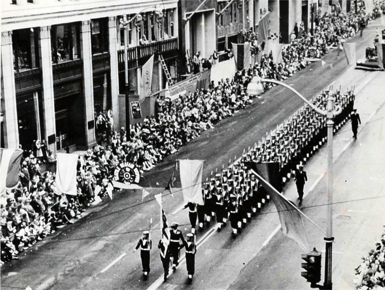 March Past in Santos