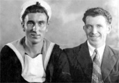 Mickey Thornton (left) and studio shot