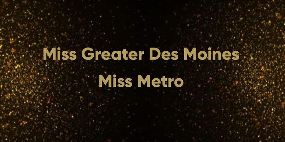 Miss Greater Des Moines Scholarship Program