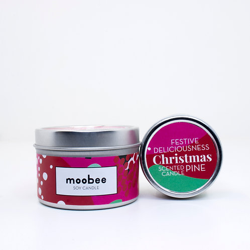 Soy Candle   Christmas Pine