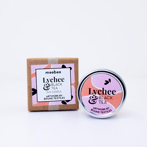 WS Designer Soy Candle | Lychee & Black Tea