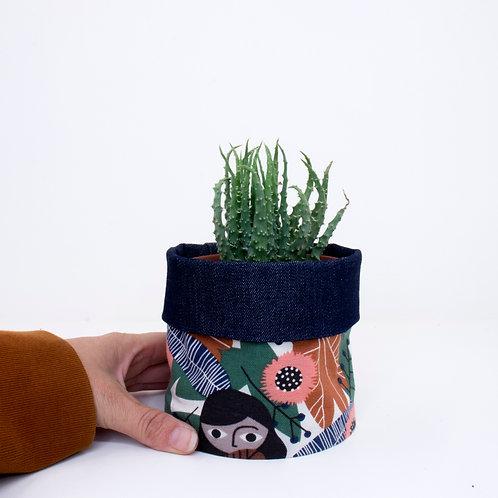 PLANTER | Forest Girl Denim | 10cm