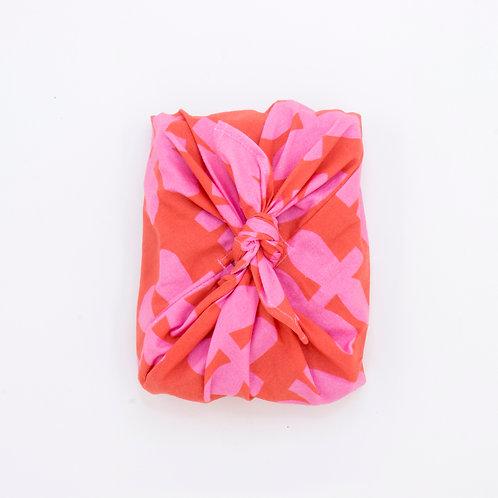 Reusable Gift Wrap Bag | Scandi Flower