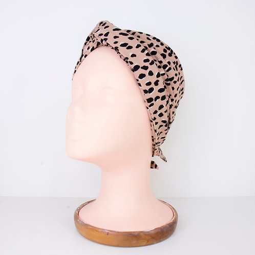 Easy Tie Printed Turban